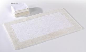 Origine, badstof badmat, met gekleurd kader, omkeerbaar (100% gekamde katoen, 2000 gr/m2) Habidecor