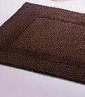 Reversible, badstof badmat, ingeweven kader, omkeerbaar (100% gekamde katoen, 2200 gr/m2, Habidecor)