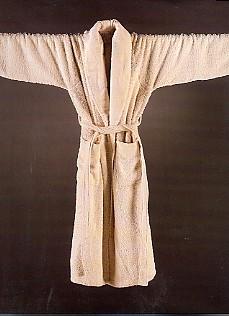 Super Pile, badstof badjas, hoge pool (100% Egyptische katoen, 700 gr/m2) Abyss