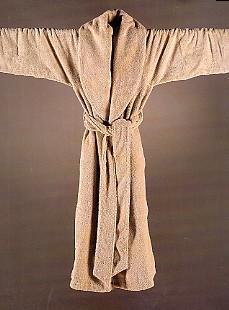 Twill, badstof badjas, lichtgewicht ervaring (100% Egyptische katoen, 500 gr/m2) Abyss