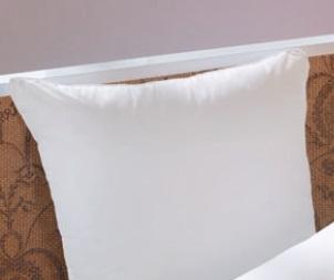 Celeste, kussen, twee kamers om vulling op de plek te houden, vulling: vezelbolletjes Air-Fill 100% polyester in beide kamers, tijk: fijnste keperdoek 100% Mako-katoen met wit satijnen bies, reiniging: wasbaar op 60 °C, kleur: wit, merk: Brinkhaus (Duitsland)