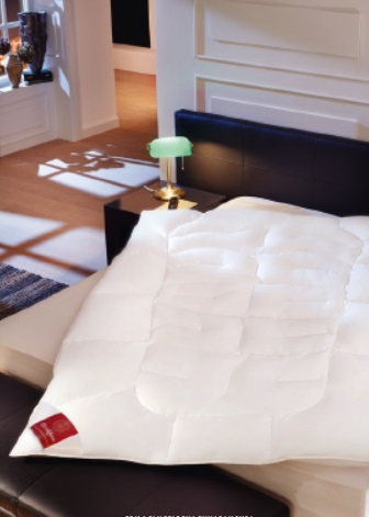 Topaz Light:  Uno Body-contour dekbed (90% dons 10% veren gans Brinkhaus)
