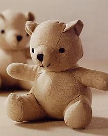 Irish Linen Teddy Bear