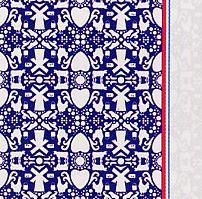 Tiles (Afdroogdoek / theedoek en keukendoek, 100% katoen, garen geverfd) Elias