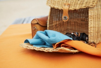 Polylin: OPRUIMING / SALE 60% Linnen / 40% Polyester, strijkarm, linnen-look, Libeco (Belgisch)