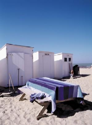 Santorini: OPRUIMING / SALE, 100% linnen, Libeco (Belgisch)