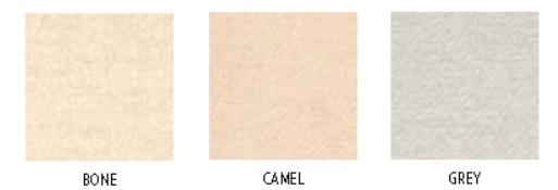 Shetland, Bedlinnen: plaid en deco-kussenhoes, 70% linnen / 30% Wool, Bone / Camel / Grey, Libeco (Belgisch)