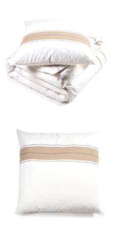 Zwin Stripe, Halflinnen bedlinnen (dekbedovertrek en slopen) van Libeco