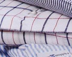 Gerda, bedlinnen: sloop en dekbedovertrek, heerlijk zachte katoen, wit met ruit jacquard ingeweven ruiten lijntjes, Nyblom (Zweden) (UITVERKOOP)