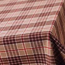 Isabella Ruta, tafellinnen: tafellaken / servetten, katoen, jacquard geweven ruit, Nyblom (Zweden) (UITVERKOOP)