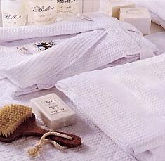 APE, wafel handdoek en wafel badjas, Italiaans, Bellora