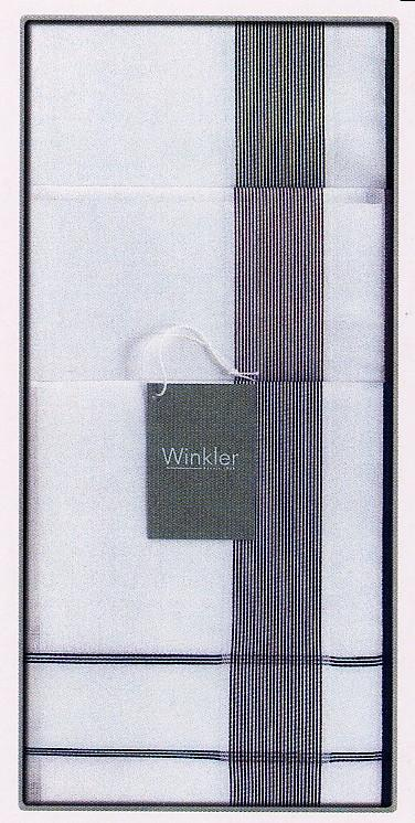 Clark I, zakdoek, Katoen, jacquard geweven kader, heren, Winkler (België)